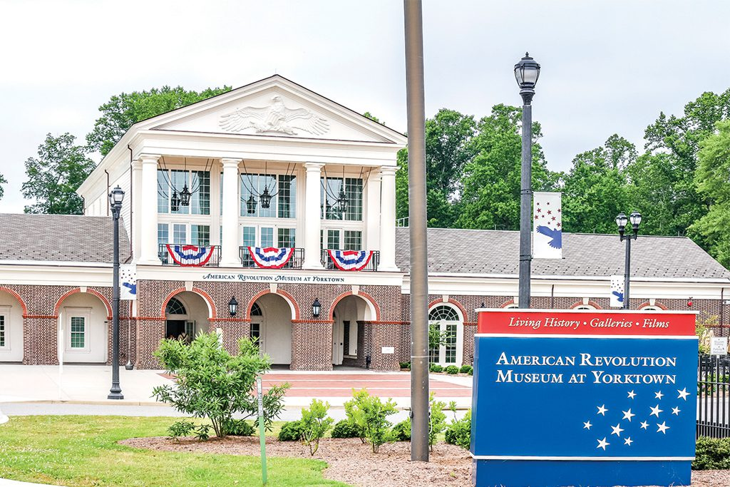 History Unfolds at the American Revolution Museum at Yorktown