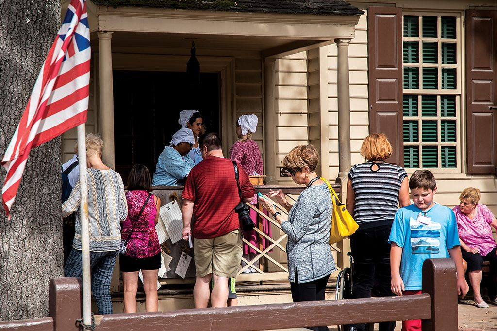 Purchasing Admission Tickets to Colonial Williamsburg