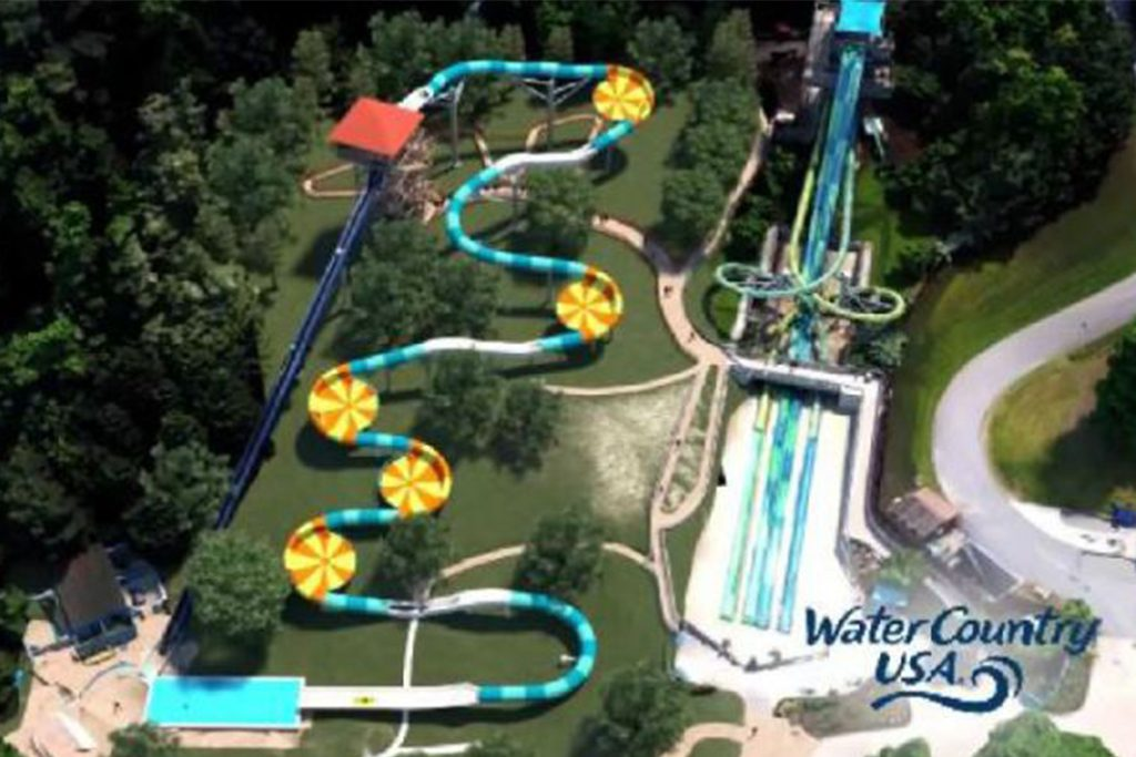 Cutback Water Coaster at Water Country USA