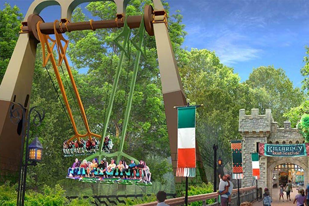 Finnegan's Flyer at Busch Gardens Williamsburg