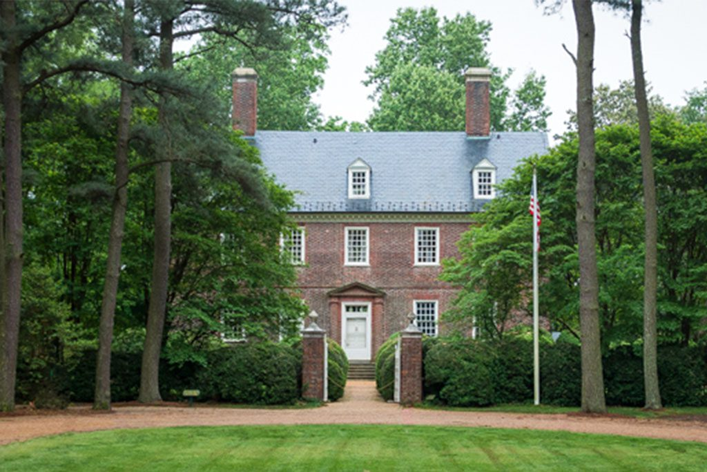 Historic Berkeley Plantation in Charles City
