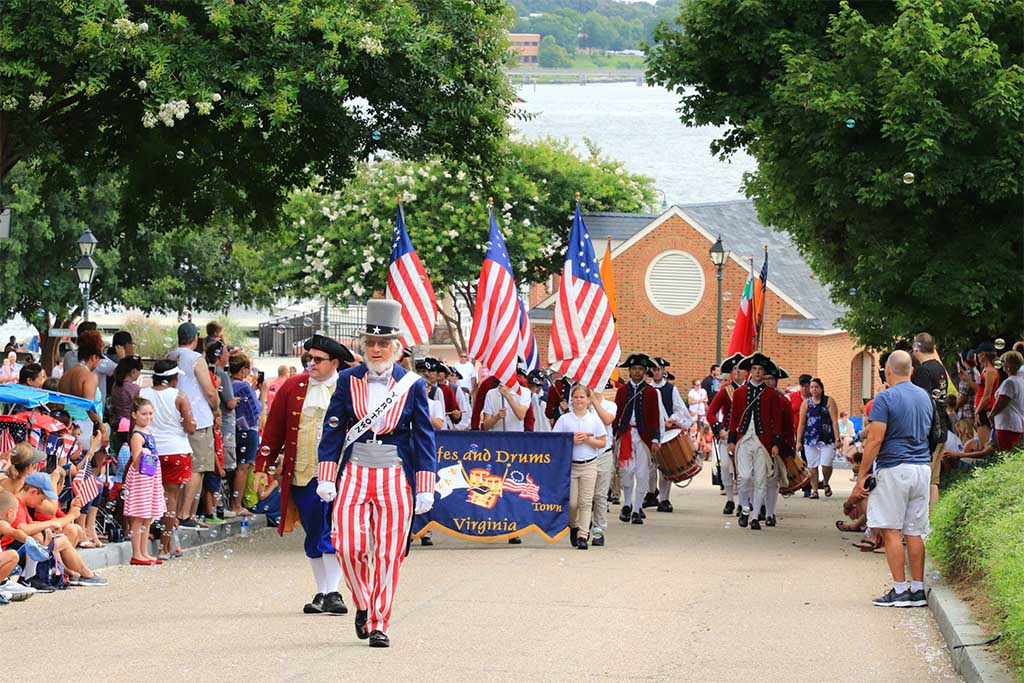 Things to Do on the Fourth of July in Yorktown