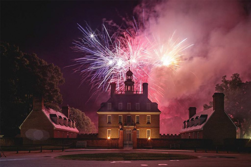 Colonial Williamsburg Grand Illumination 2019