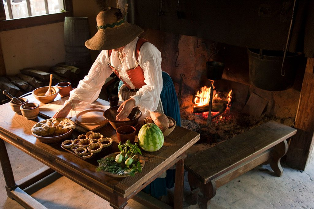 Food and Feasts of Colonial Virginia 2019