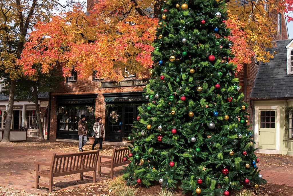 Christmas in Williamsburg, Christmas in Yorktown, Christmas in Jamestown