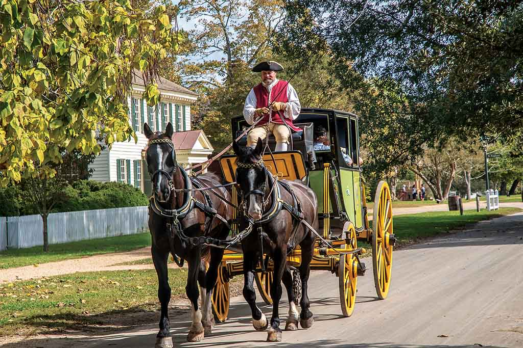 Colonial Williamsburg spring