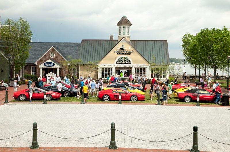 Ferraris Invade Yorktown
