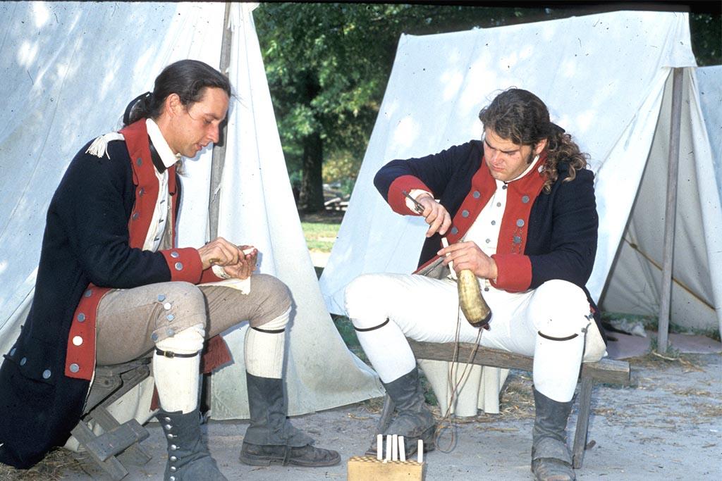 American Revolution Museum at Yorktown encampment