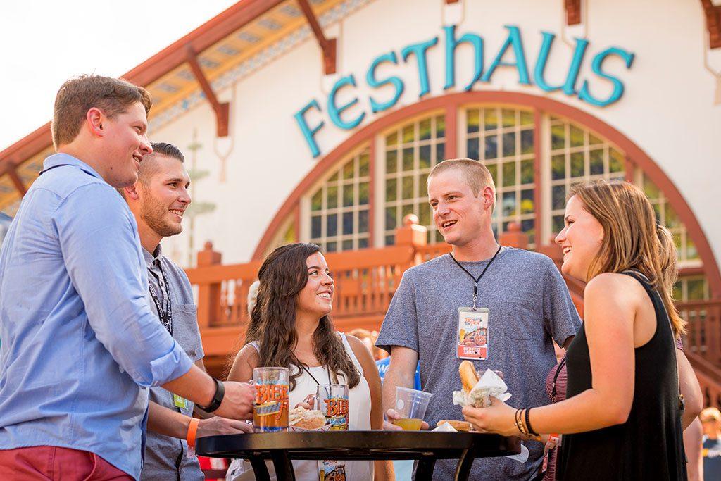 Busch Gardens Bier Fest