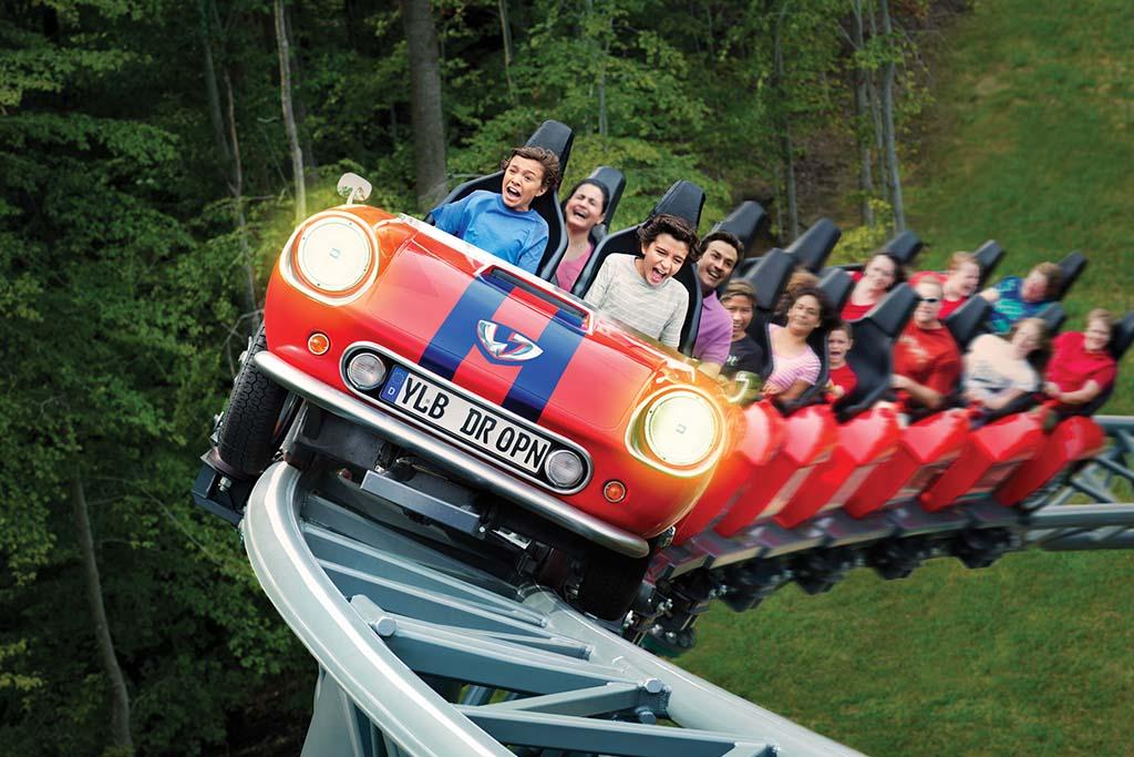 Busch Gardens rides