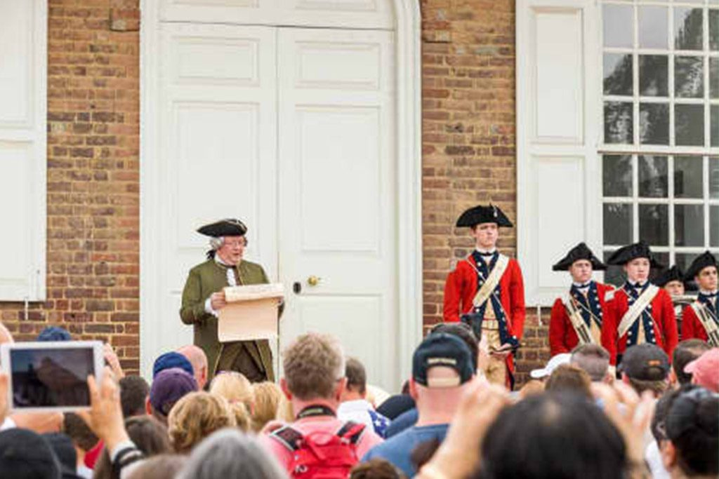 Colonial Williamsburg Declaration of Independence