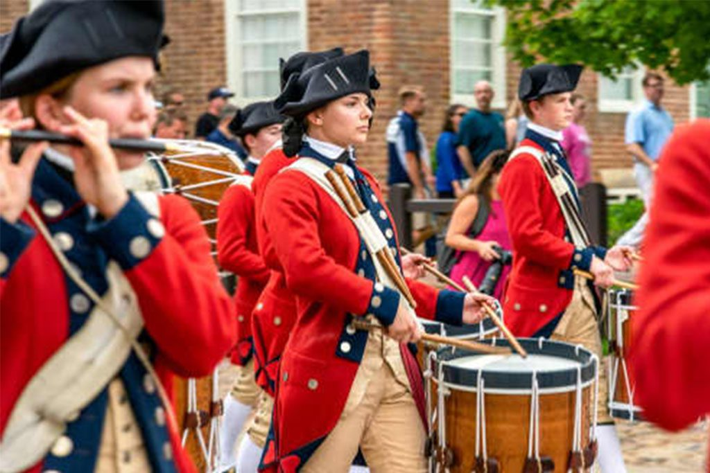 Fifes and Drums of Colonial Williamsburg