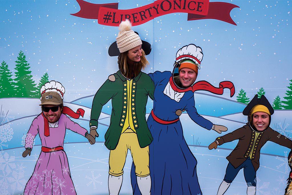 Christmas-Wiliamsburg-Liberty-Ice-skating