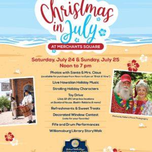 Christmas in July Celebration