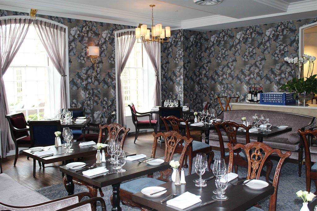 Williamsburg Inn Terrace and Goodwin Rooms