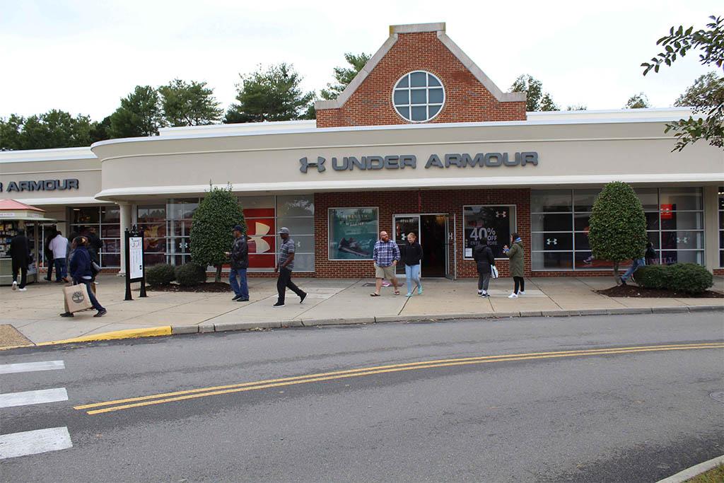 Williamsburg Premium Outlets sales