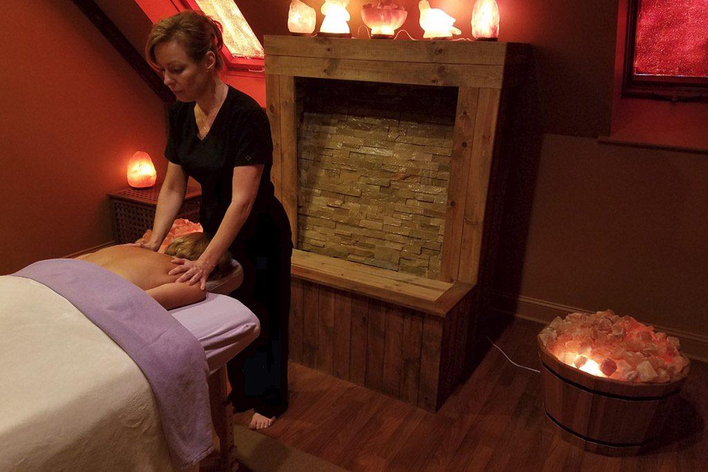 Williamsburg Salt Spa massage