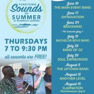 Yorktown's Sounds of Summer concerts