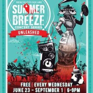 Merchant Square Summer Breeze Concert Series